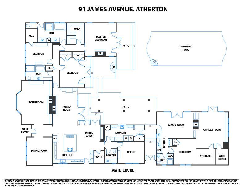 91 James Avenue, Atherton